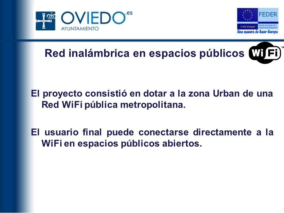 Red inalámbrica en espacios públicos
