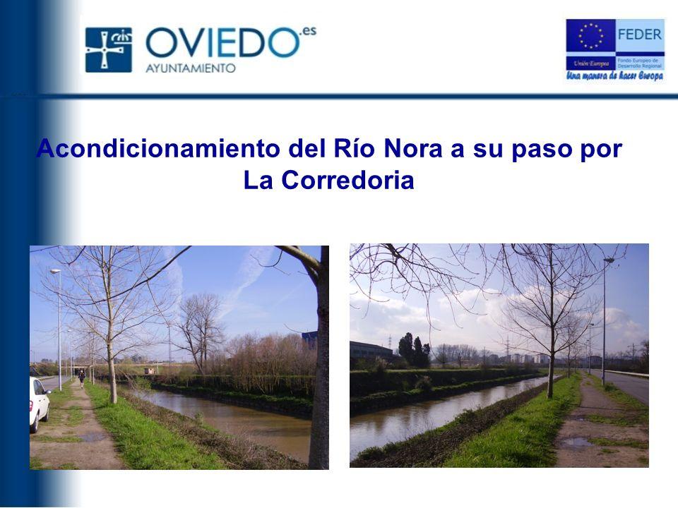Acondicionamiento del Río Nora a su paso por La Corredoria