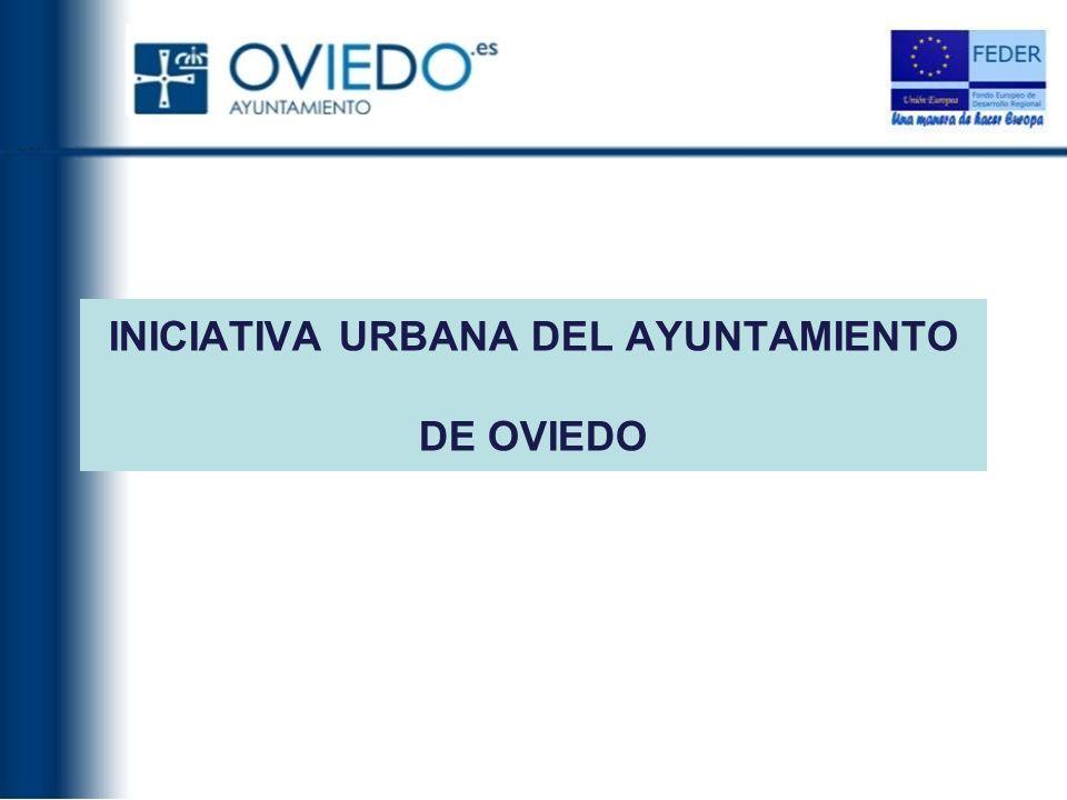 INICIATIVA URBANA DEL AYUNTAMIENTO DE OVIEDO
