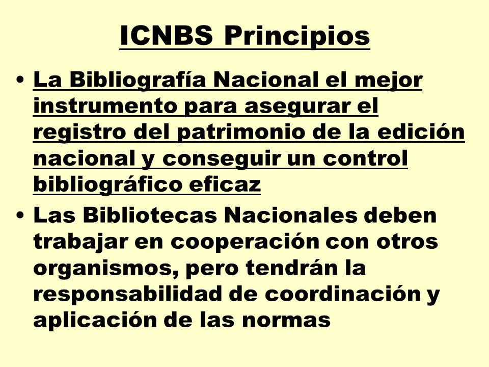 ICNBS Principios