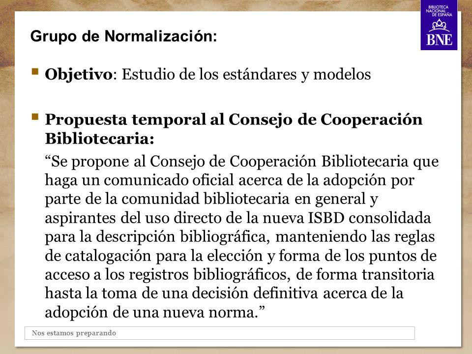 Grupo de Normalización: