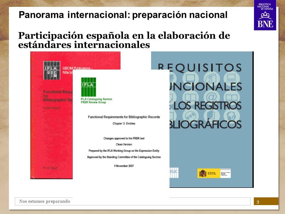 Participación española en la elaboración de estándares internacionales
