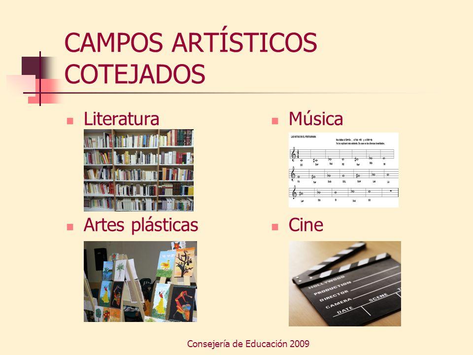 CAMPOS ARTÍSTICOS COTEJADOS