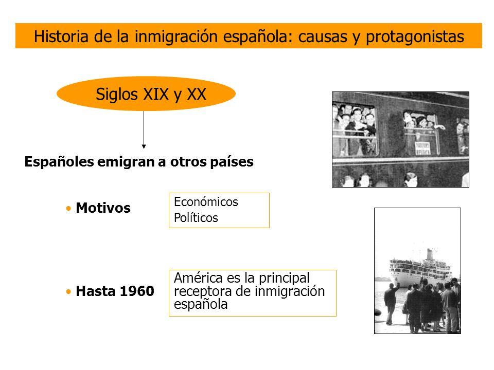 Historia de la inmigración española: causas y protagonistas