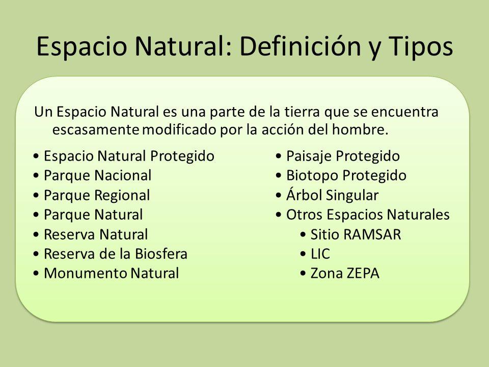 Espacio Natural: Definición y Tipos