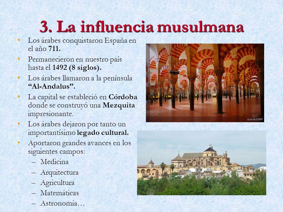 3. La influencia musulmana