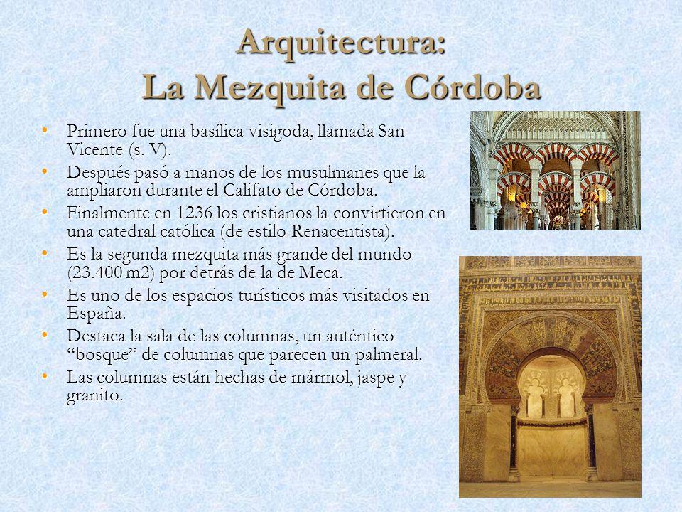 Arquitectura: La Mezquita de Córdoba