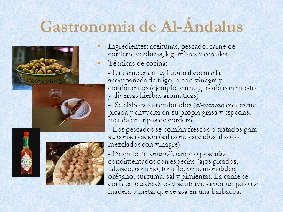 Gastronomía de Al-Ándalus