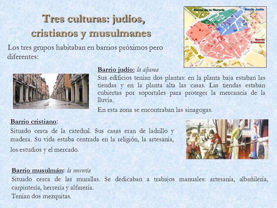 Tres culturas: judíos, cristianos y musulmanes