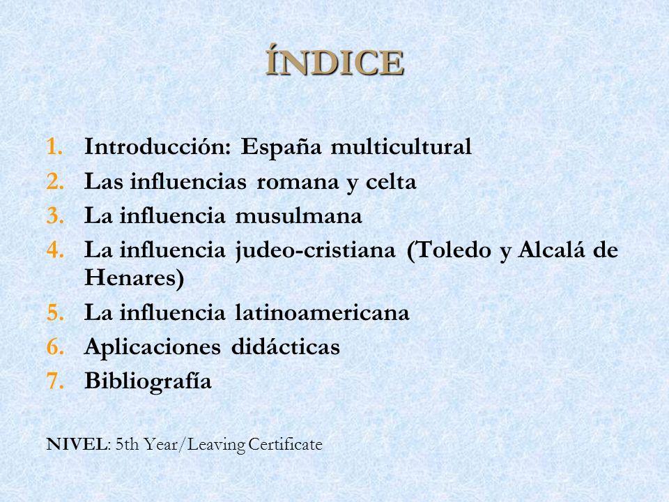 ÍNDICE Introducción: España multicultural