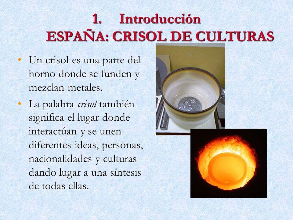 Introducción ESPAÑA: CRISOL DE CULTURAS