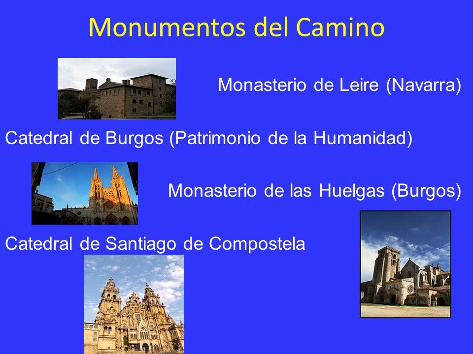 Monumentos del Camino