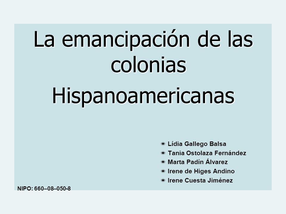 La emancipación de las colonias