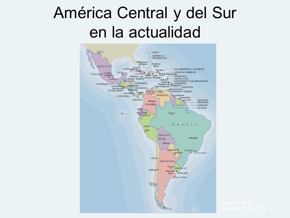 América Central y del Sur en la actualidad
