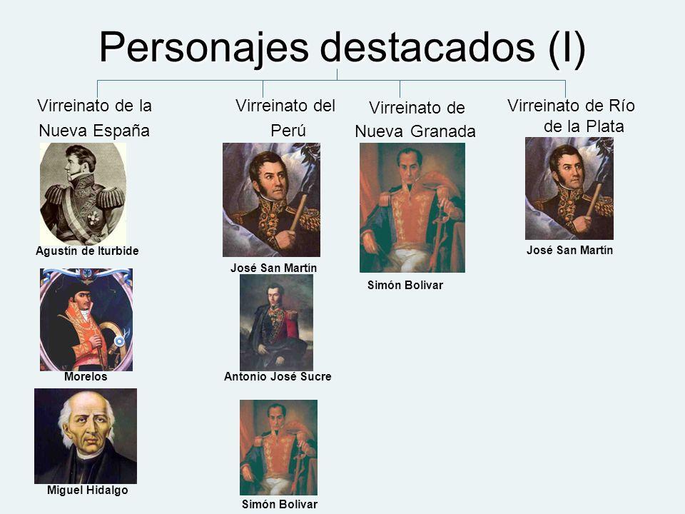 Personajes destacados (I)