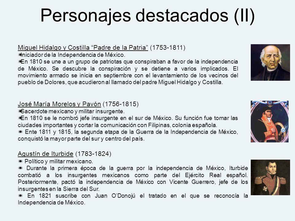 Personajes destacados (II)