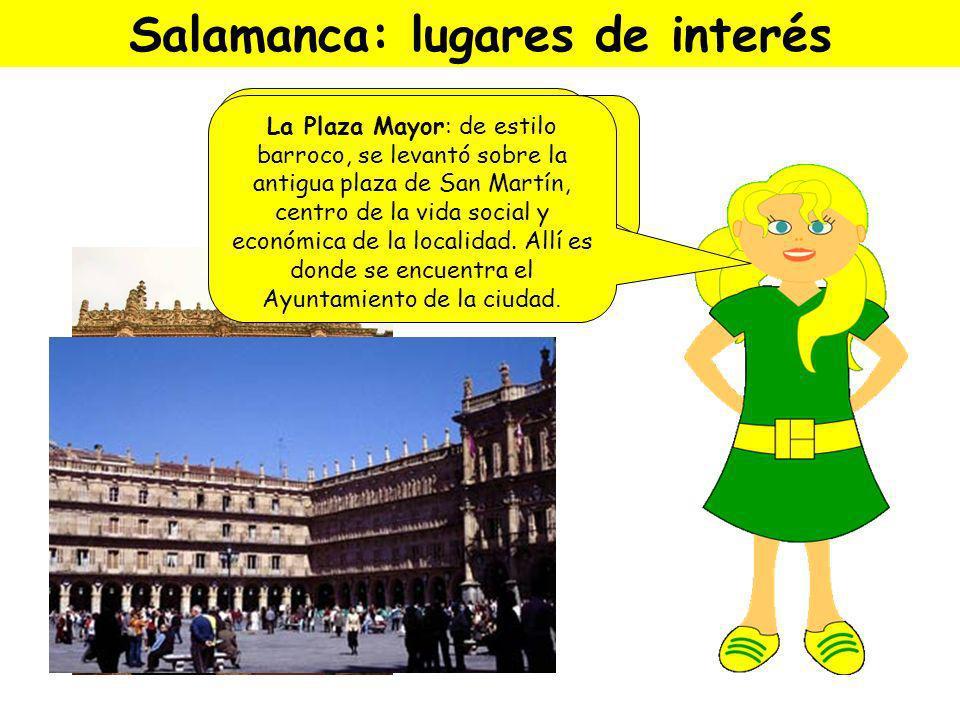 Salamanca: lugares de interés