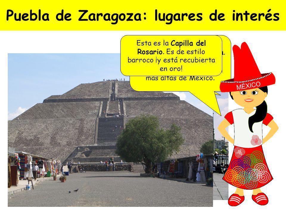 Puebla de Zaragoza: lugares de interés
