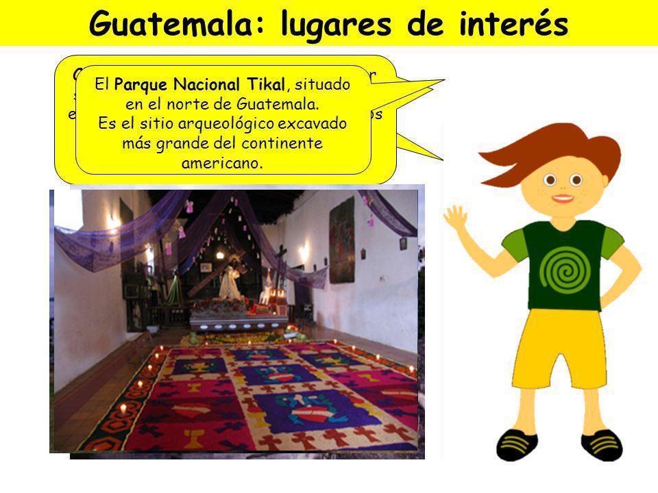 Guatemala: lugares de interés