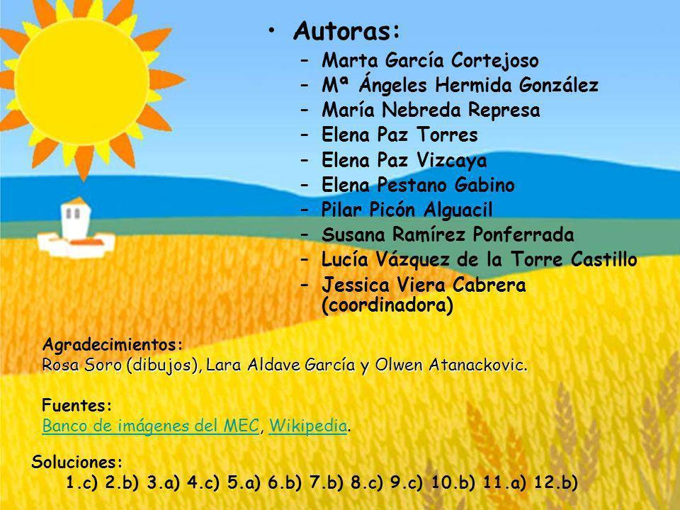 Autoras: Marta García Cortejoso Mª Ángeles Hermida González
