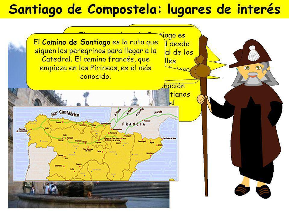 Santiago de Compostela: lugares de interés