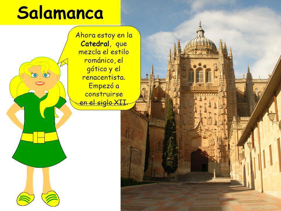 ¡Bienvenida a Salamanca!