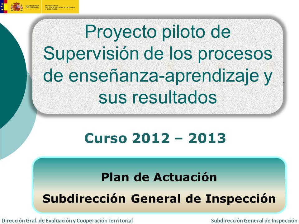 Subdirección General de Inspección