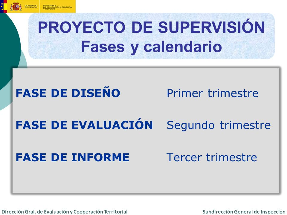PROYECTO DE SUPERVISIÓN