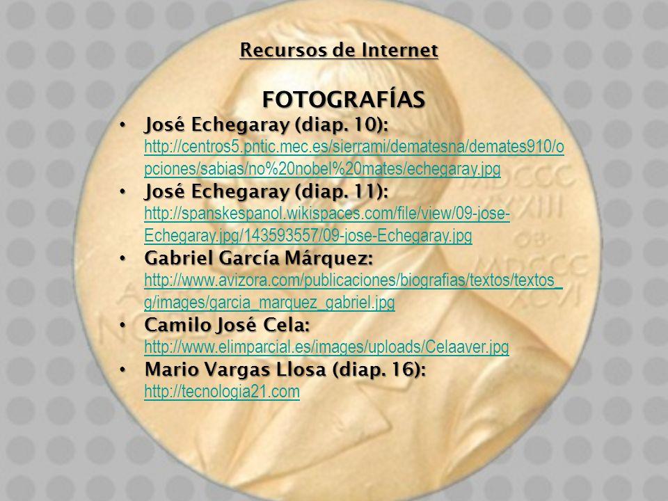 FOTOGRAFÍAS Recursos de Internet