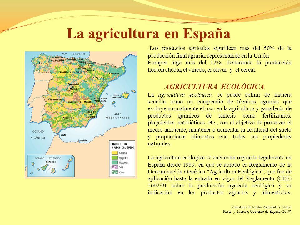 La agricultura en España