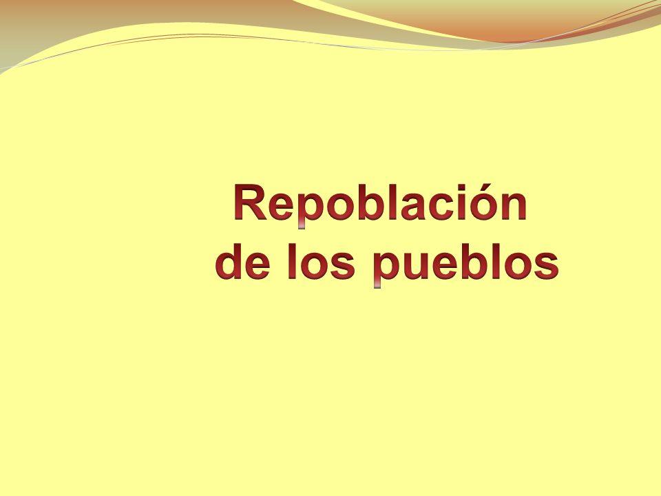 Repoblación de los pueblos
