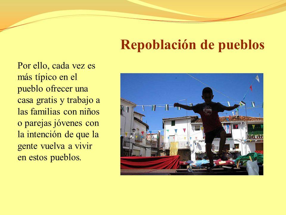 Repoblación de pueblos