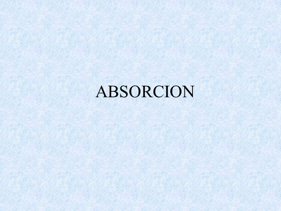 ABSORCION