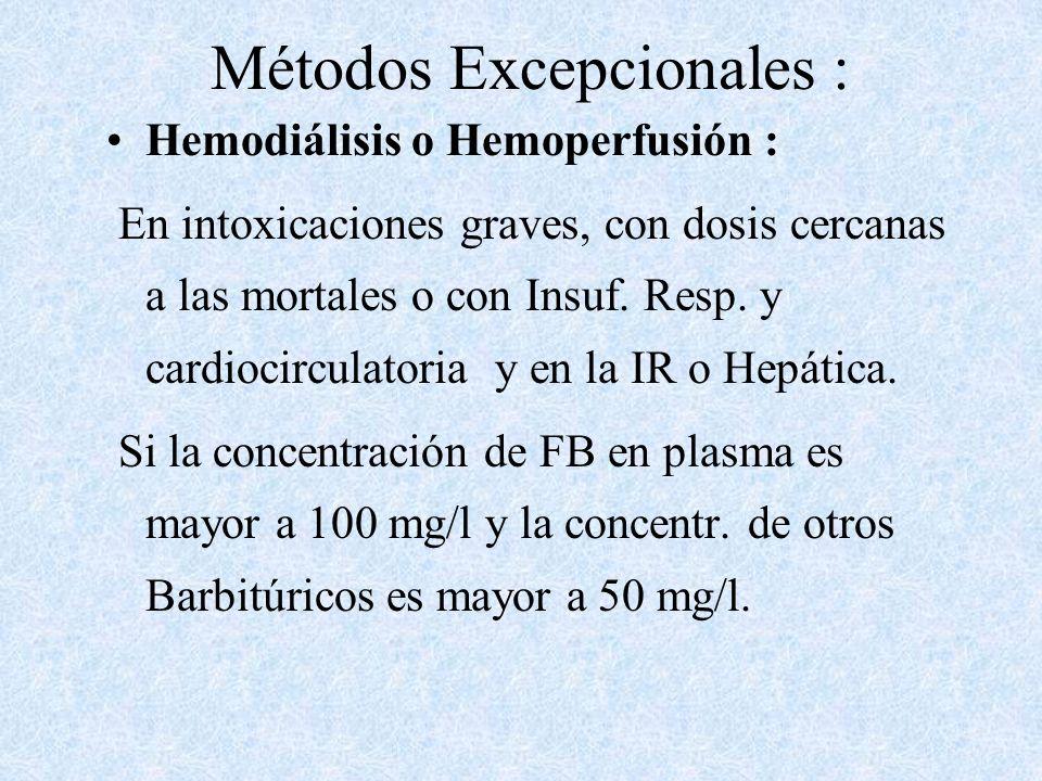 Métodos Excepcionales :