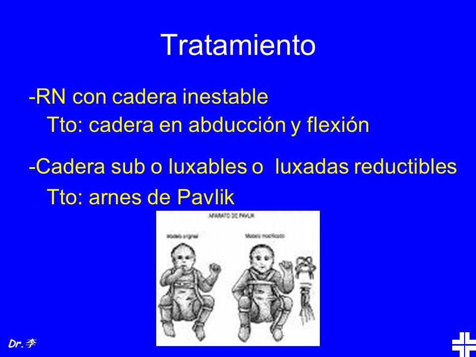 Tratamiento -RN con cadera inestable