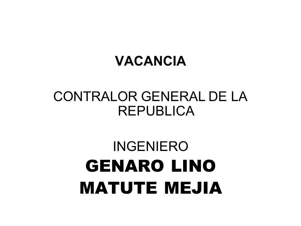 CONTRALOR GENERAL DE LA REPUBLICA