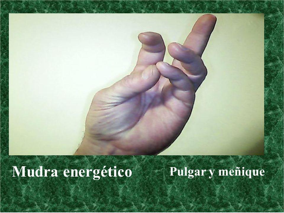 Mudra energético Pulgar y meñique