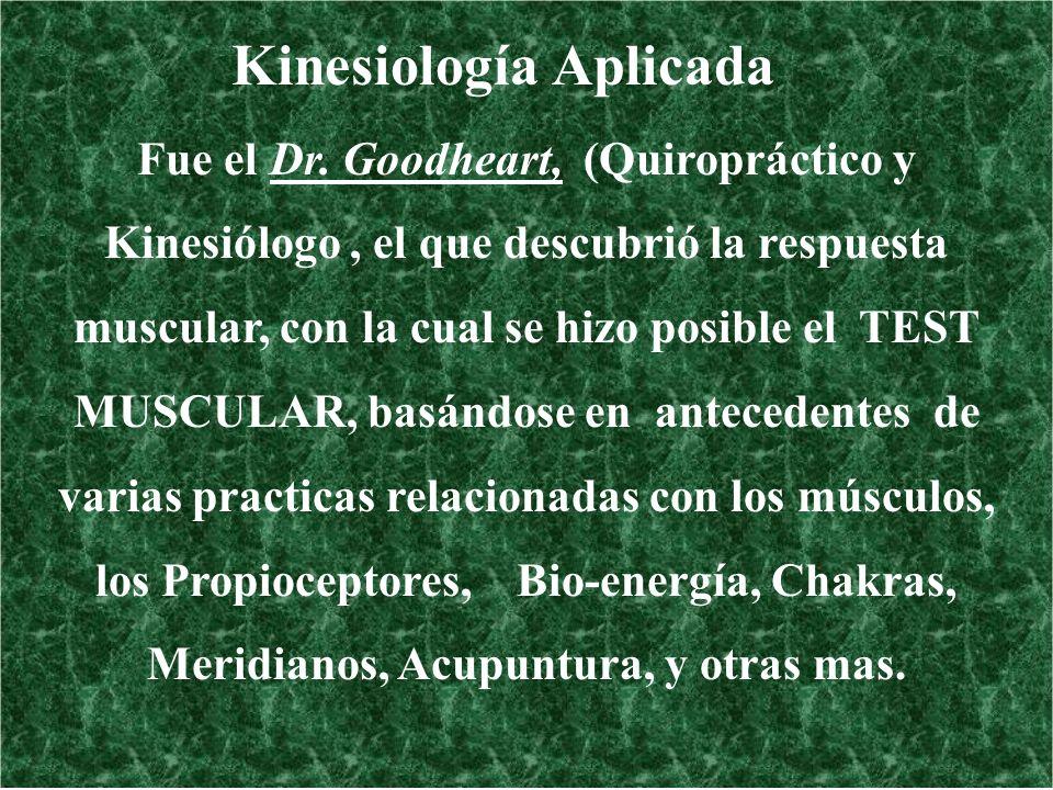 Kinesiología Aplicada