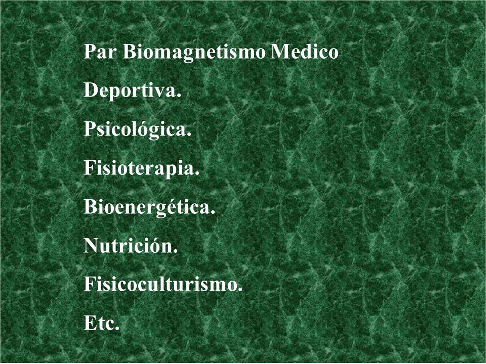 Par Biomagnetismo Medico