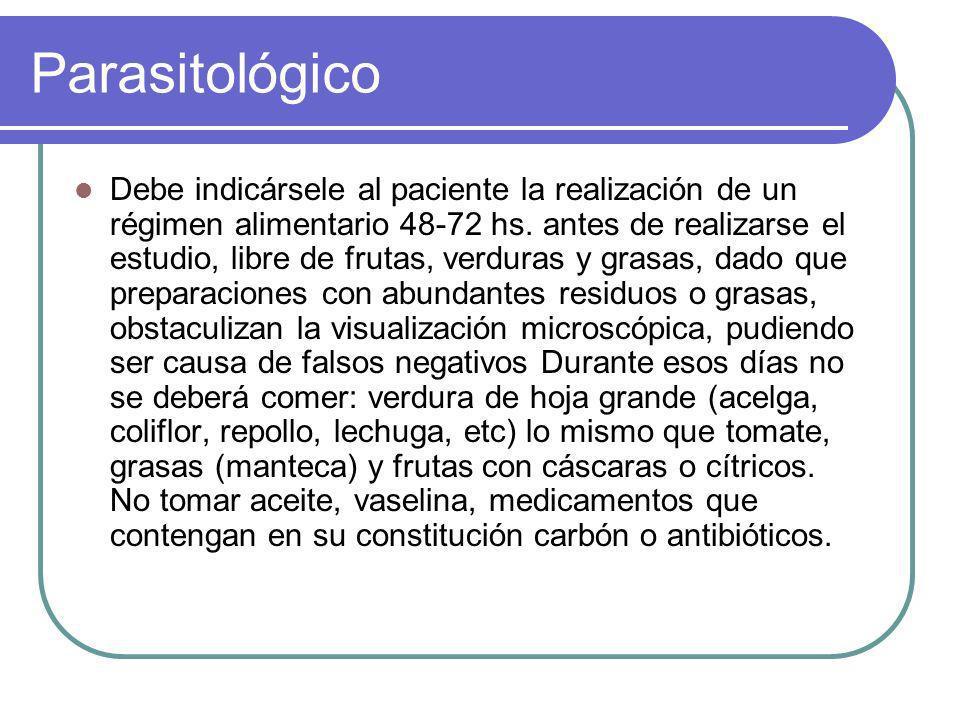 Parasitológico