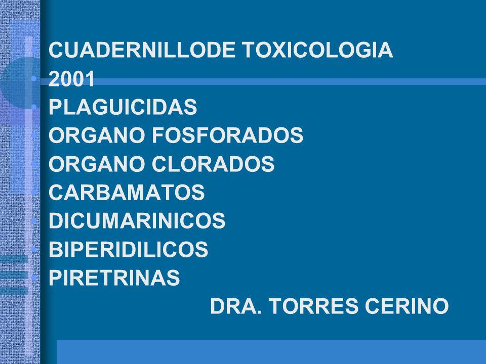 CUADERNILLODE TOXICOLOGIA