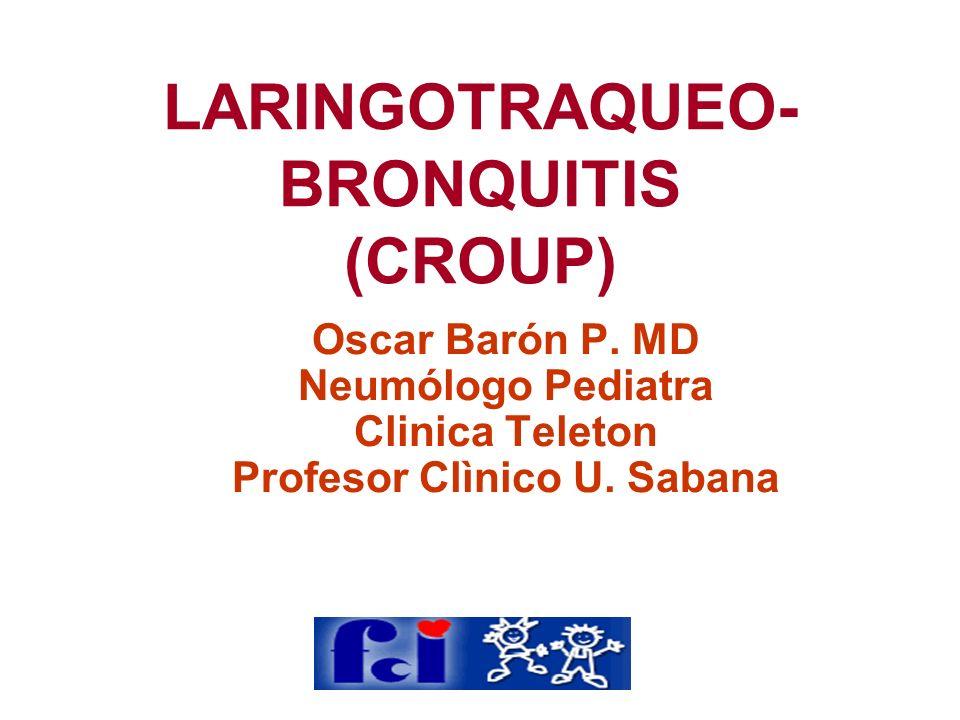 LARINGOTRAQUEO-BRONQUITIS (CROUP)