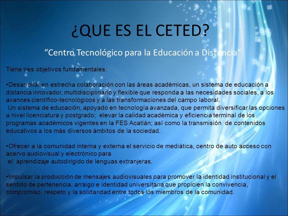 Centro Tecnológico para la Educación a Distancia