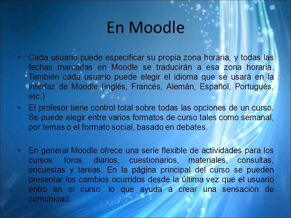 En Moodle