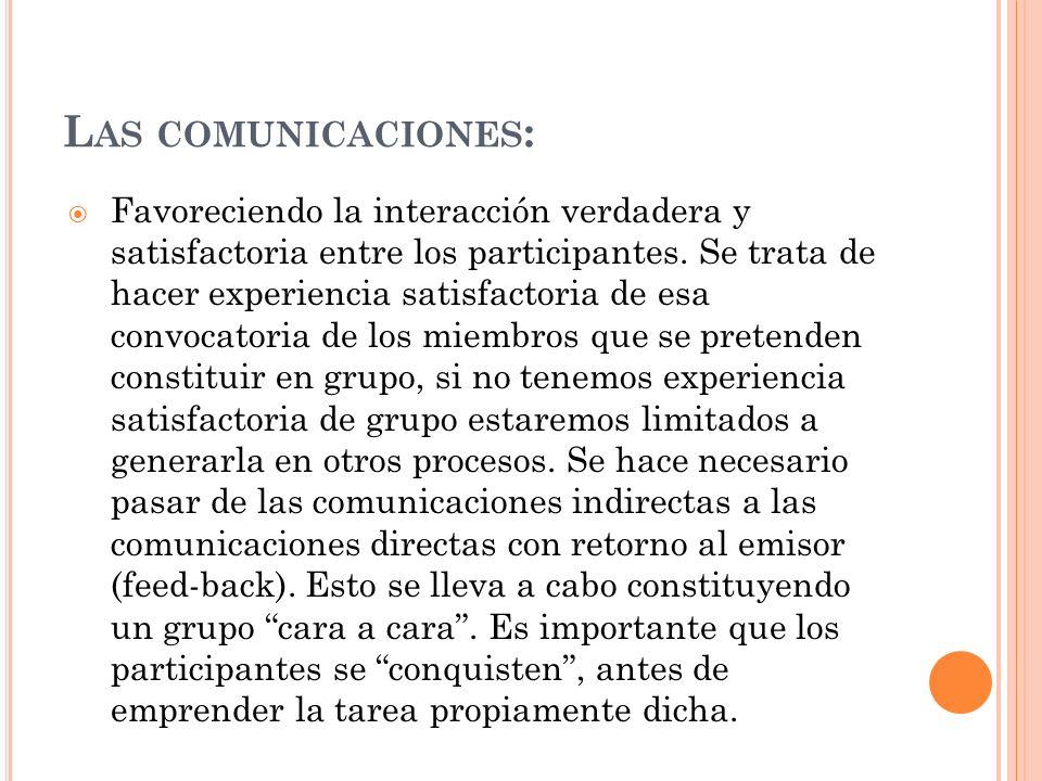 Las comunicaciones: