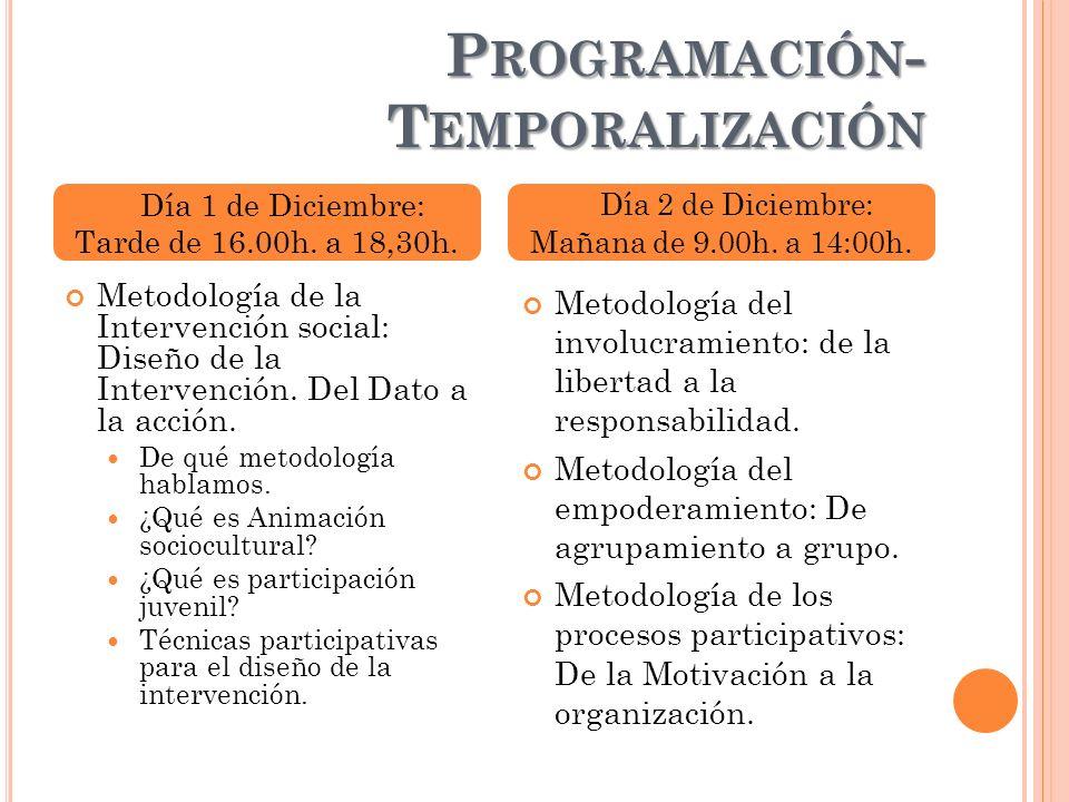 Programación-Temporalización