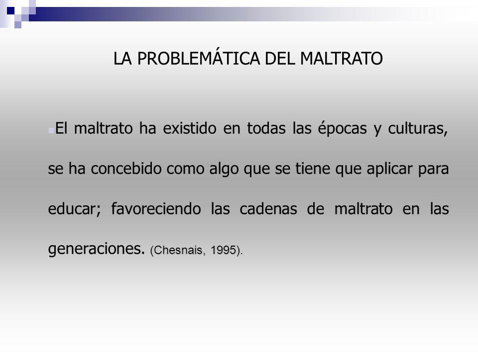 LA PROBLEMÁTICA DEL MALTRATO