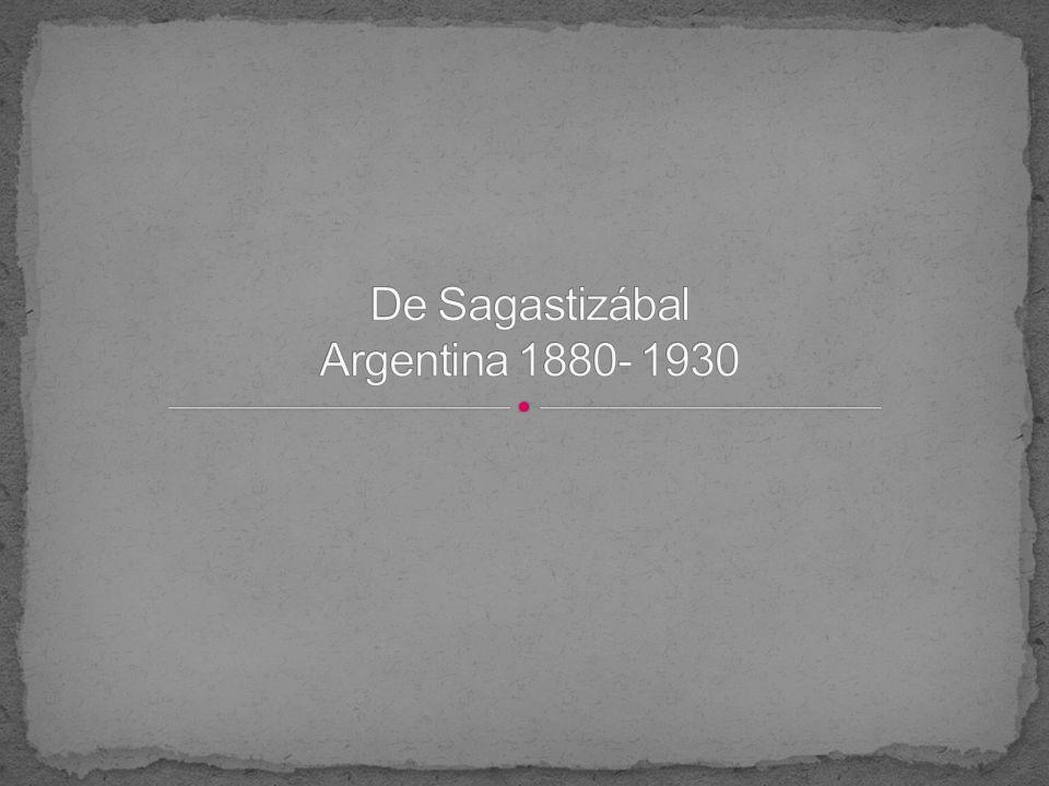 De Sagastizábal Argentina 1880- 1930