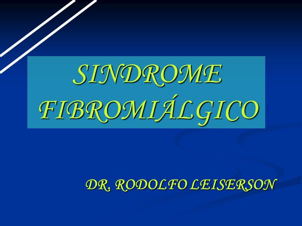 SINDROME FIBROMIÁLGICO