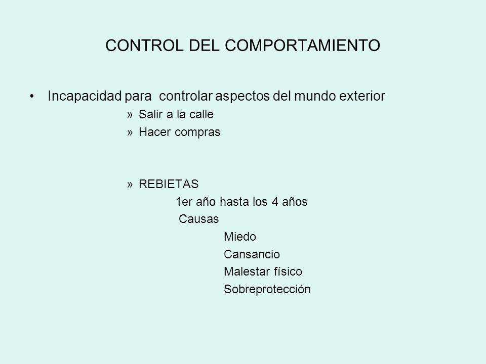 CONTROL DEL COMPORTAMIENTO